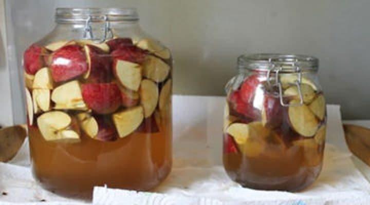 jablečný ocet - výroba