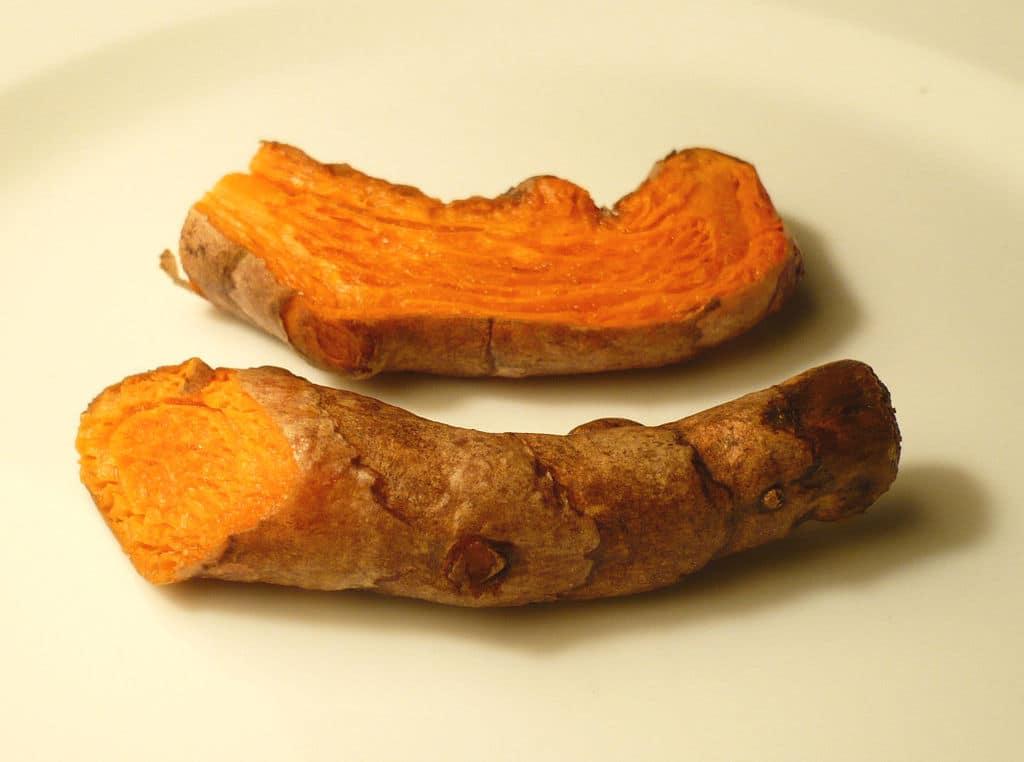 kořen kurkumy