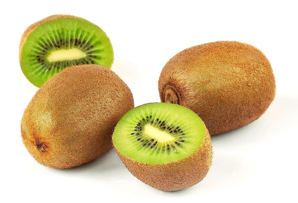 nakrájené kiwi