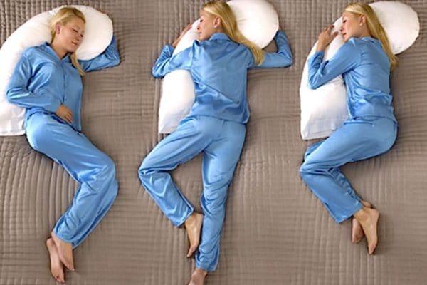 spánkové polohy