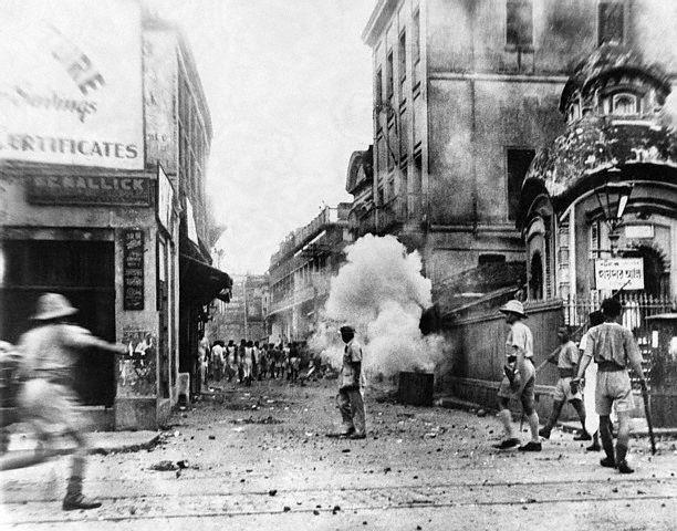 Slzný plyn se v minulosti používal jako chemická zbraň