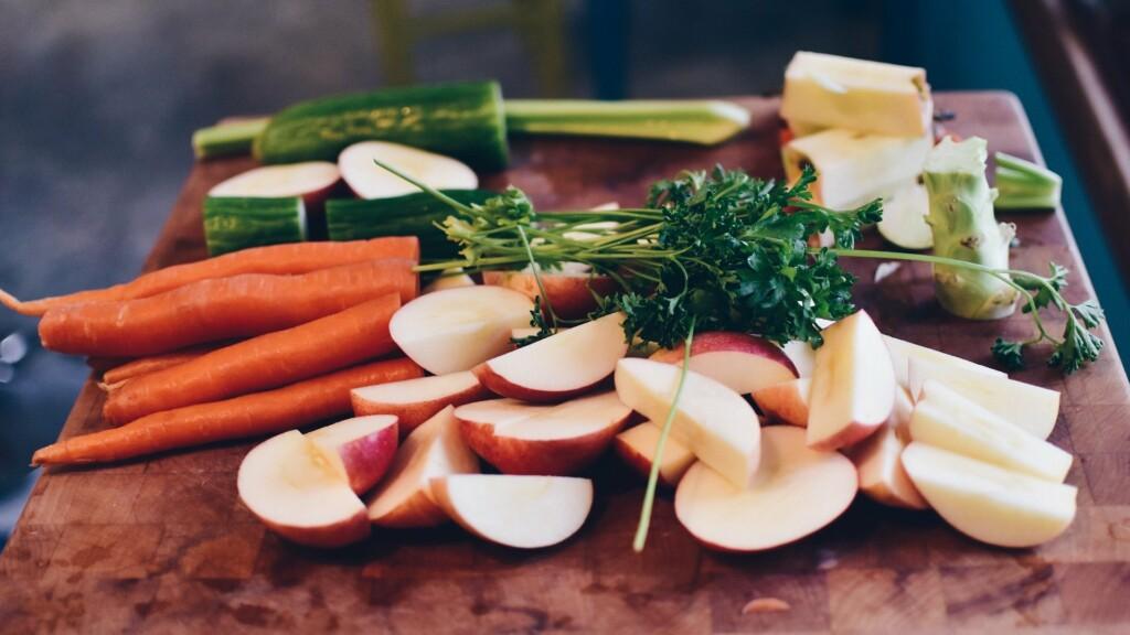 Zeleninové hranolky s dipem