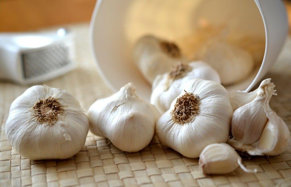 česnek zmírňuje příznaky nemoci