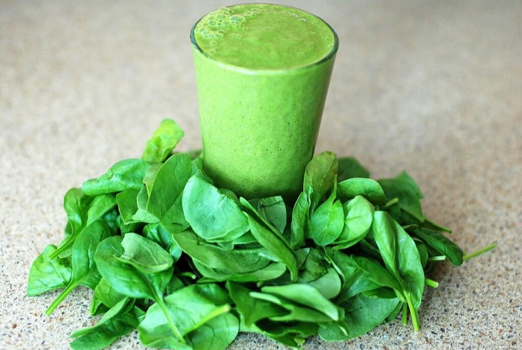 zelené smoothie posiluje imunitu