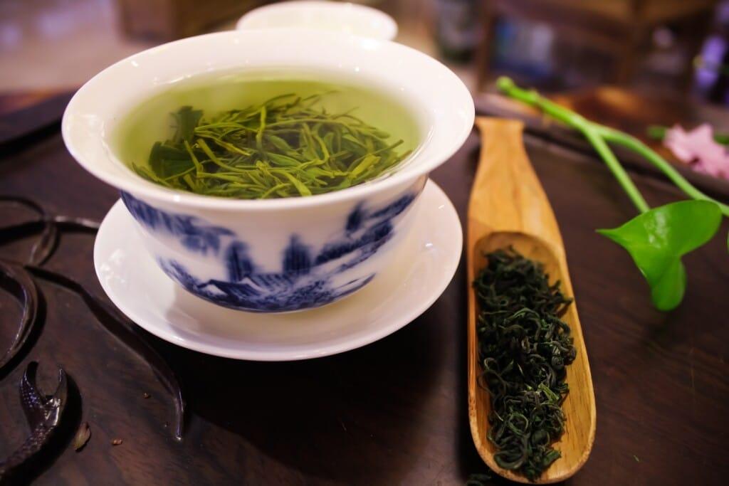 zelený čaj a spalování tuků