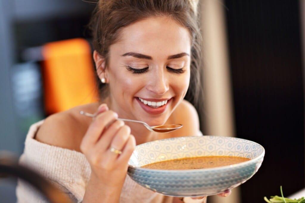 dýňová polévka a hubnutí