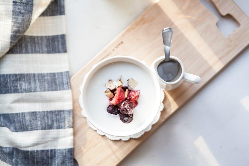 Jogurt při nachlazení