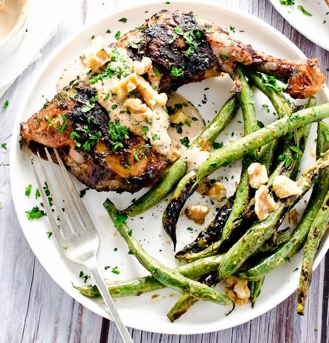 grilované kuře snadný recept