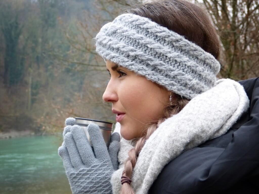 rukavice a suchá kůže