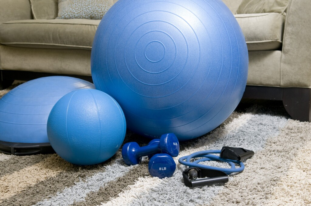 Cvičení na gymballu
