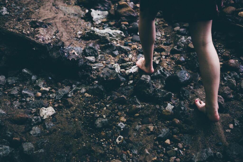 chození bez bot