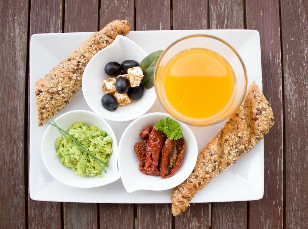 příklady jídel při hubnutí