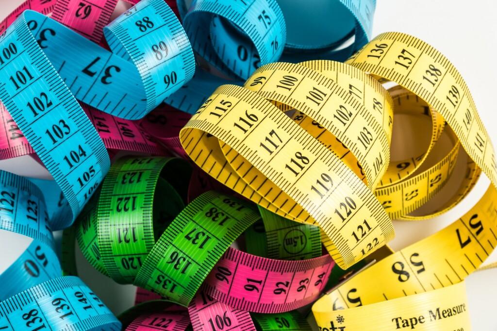 jak se měřit při hubnutí