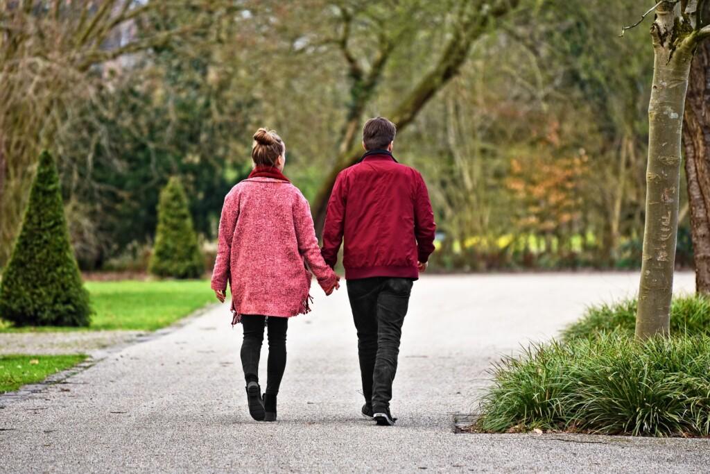procházky a hubnutí