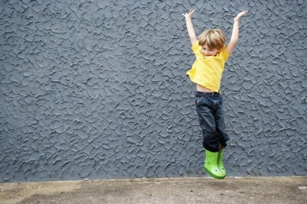 cvičení s dětmi doma