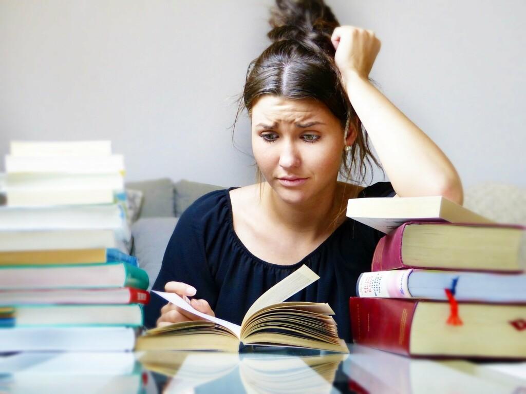 stresová situace při studiu