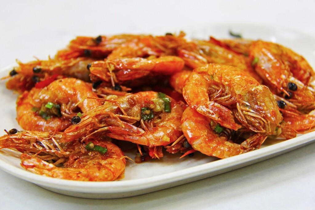 dietní recept na krevety