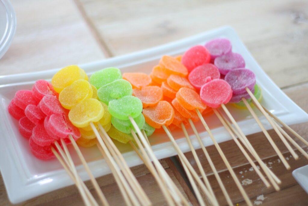 Sladkosti s vysokým obsahem cukru a jak jej nahradit.