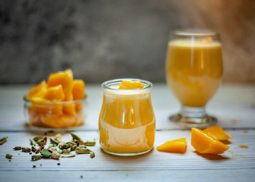 Mango a výrobky z něj.